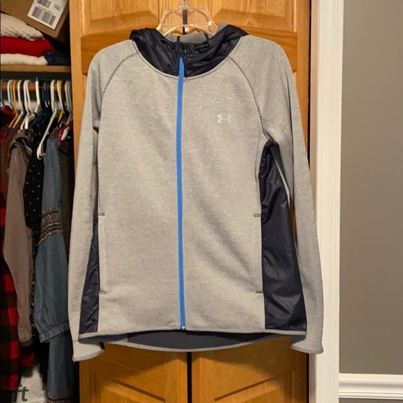 Under Armour Jackets & Blazers - Under Armour | Hooded Zip Up Med